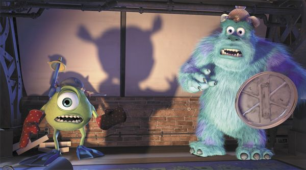 Mike Wazowski, Sullivan, Monstros SA, Monsters INC