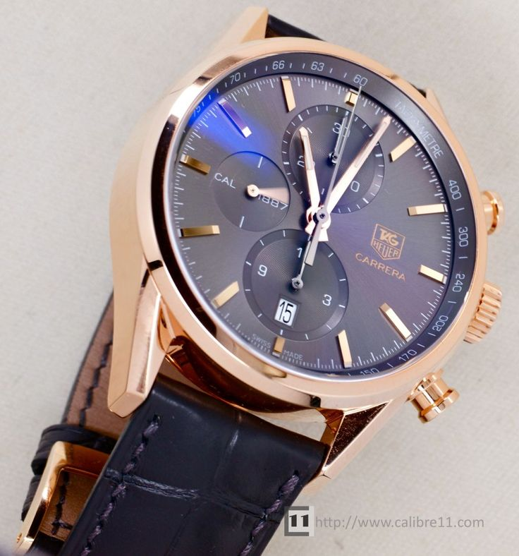 spacex tag watch rose gold - 736×788