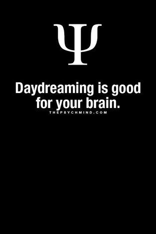 Daydreaming is good for your brain