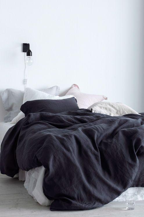 Ellos Home Påslakanset Candice i tvättat lin, 2 eller 3 delar