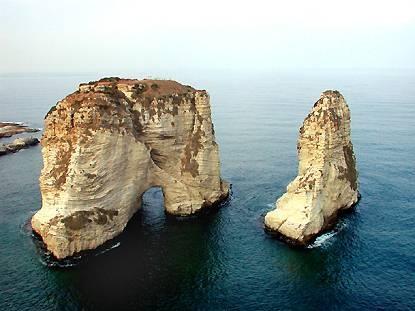 La Grotte aux Pigeons, Raouché, Beyrouth, Liban