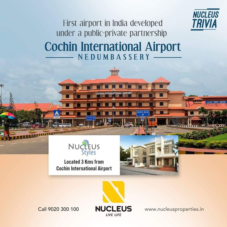 Cochin International Airport is the first airport in India developed under a public-private partnership (PPP) model and was funded by nearly 10,000 non-resident Indians from 30 countries. #Trivia  #Kerala #Kochi #India #Architecture #Home #Construction #City #Elegance #Environment #Elegant #Building #Beauty #Beautiful #Exquisite #Interior #Design #Comfort #Luxury #Life #Gorgeous #Style #LifeStyle #RealEstate #Nature #View #Atmosphere #Cochin #Airport