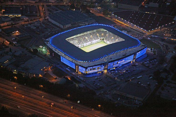 Ghelamco Arena, new stadium of KAA Gent.