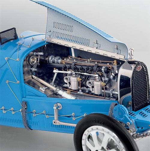 CMC Models 1924 Bugatti Type 35 Grand Prix Diecast Car Model CMC063