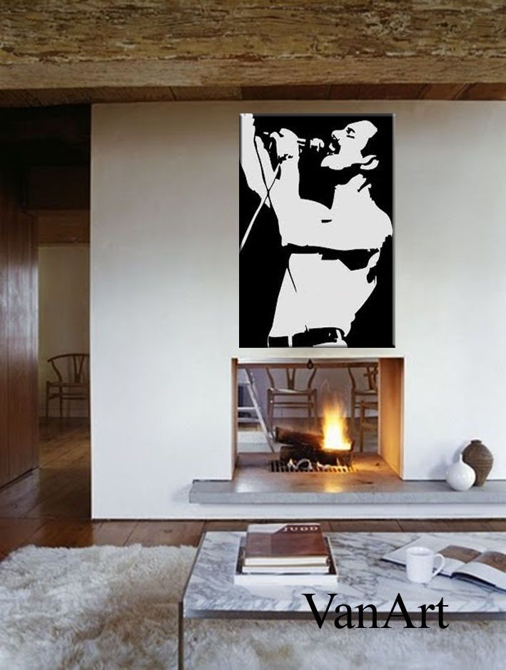 Freddie Mercury quadro moderno Pop Art