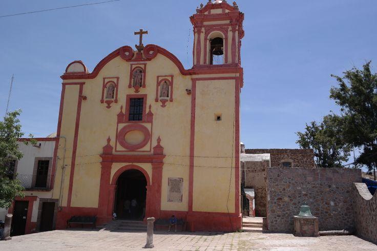 Iglesia de Mexquitic de Carmona, SLP