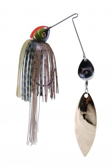 Strike King is the king of spinner baits. This spinner bait will have bass and northern going crazy