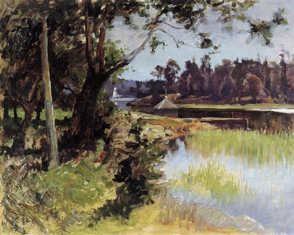 """Kulosaaren Salmi"" (1880) by Gunnar Berndtson"