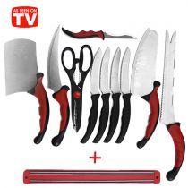 Paslanmaz Çelik Bıçak Seti Contour Pro Knives (11 Parça)