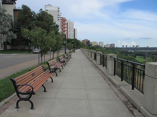 Victoria Promenade, Edmonton, Alberta, Canada
