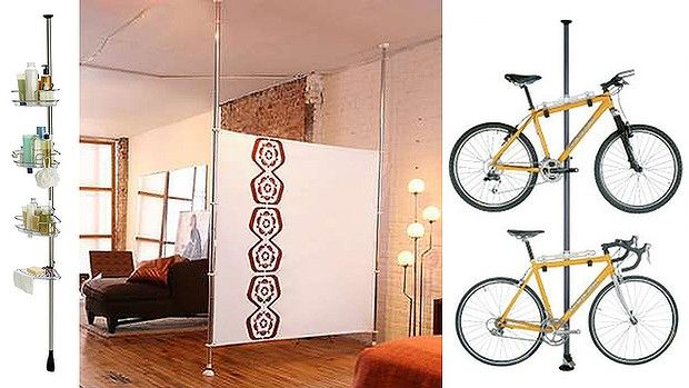 room divider poles studio inspiration pinterest when you leave good ideas and fabrics. Black Bedroom Furniture Sets. Home Design Ideas