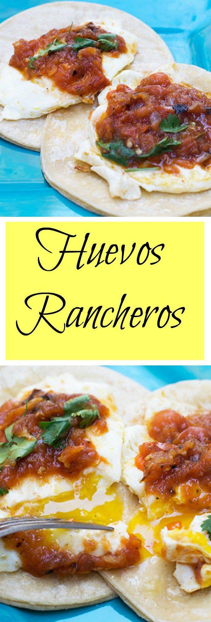Huevos Rancheros is an easy mexican breakfast full of flavor.