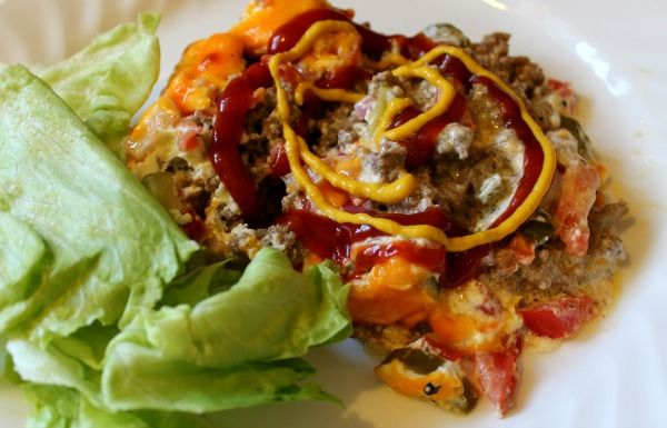 Cheeseburger Pie GF: Trim Healthy Mama- this gets rave reviews and is relatively inexpensive I read.