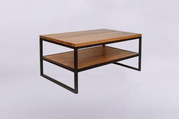 Modern Industrial  Yoshiro Coffee Table  by SparkCraftWorkshop