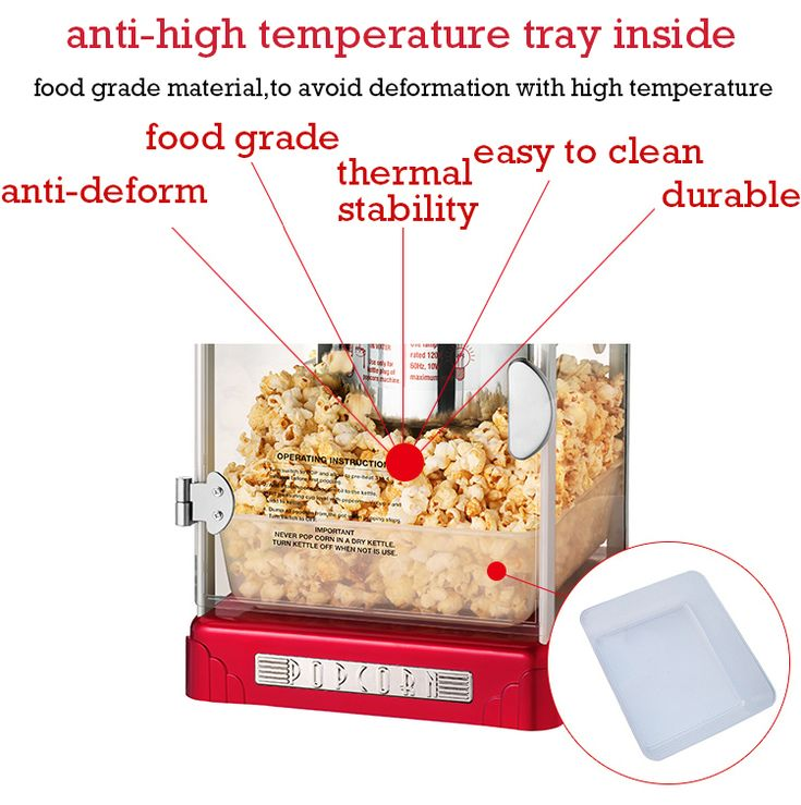 Modern Commercial Popcorn Machine Household