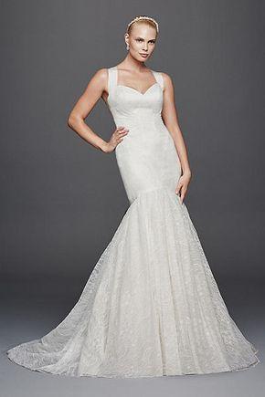 Truly Zac Posen Criss Cross Back Wedding Dress ZP341638  the back is crazy dramatic.