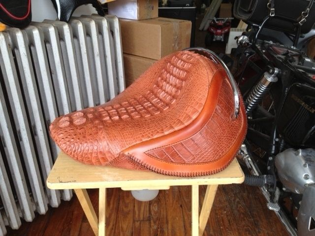 Best  Motorcycle Seats Ideas Only On Pinterest Cafe Racer - Vinyl for motorcycle seat covers