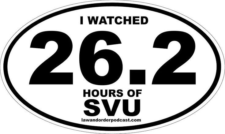 SVU Marathon Gear by Rebecca Lavoie