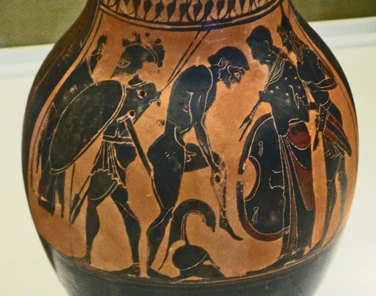 conflict in greek vases Trade was a fundamental aspect of the ancient greek world and following territorial expansion, an increase in population movements, and innovations in transport, goods could be bought, sold.