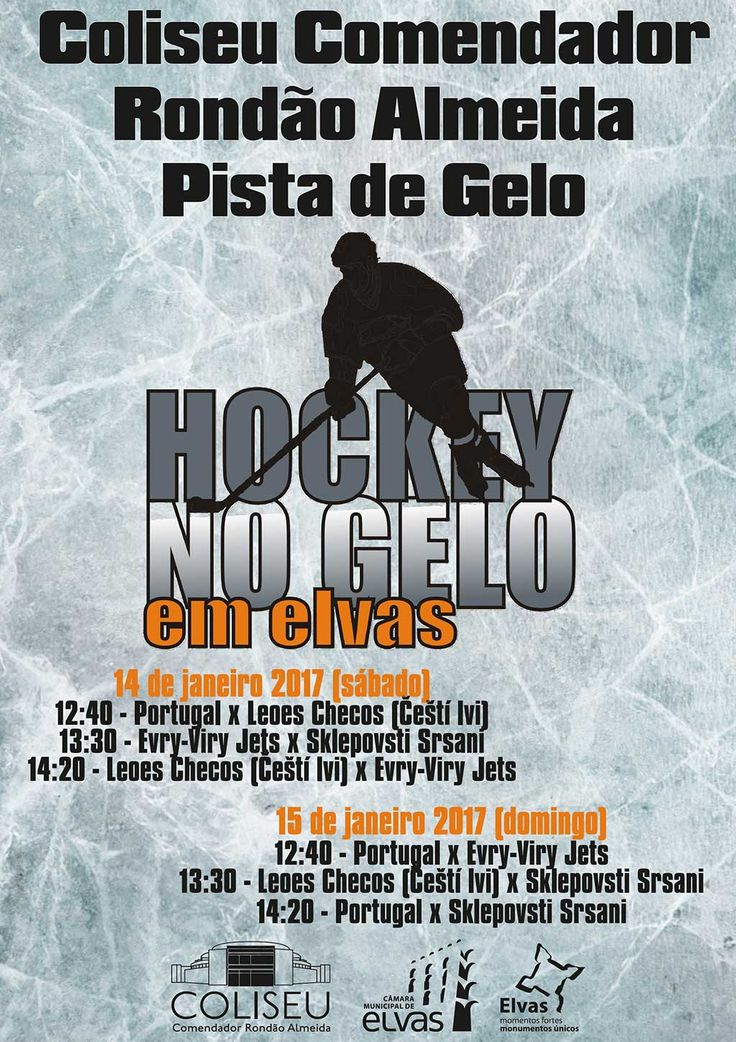 Pista de Gelo vai ser palco de jogos entre equipas de hóquei no gelo | Portal Elvasnews