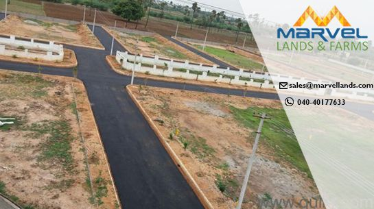 Marvellands is one of the leading residential layout developers in Kadthal. DTCP Approved Residential Land and plots for Sale in kadthal .Marvel Lands has complete infrastructure facilities and amenities with reasonable Price.