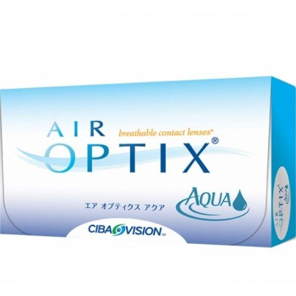 AIR OPTIX AQUA (6ER PACK) SILIKON HYDROGEL MONATS KONTAKTLINSEN