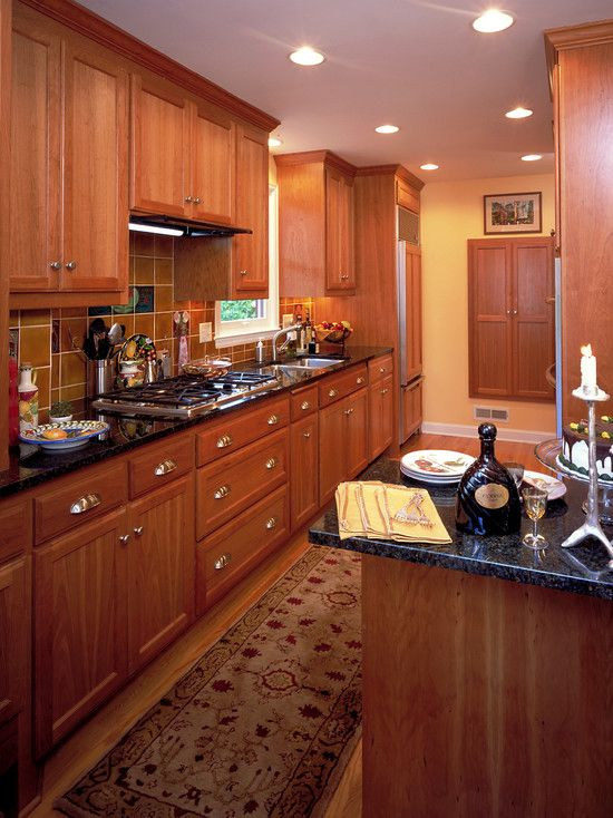 1000 images about galley kitchen on pinterest narrow for Traditional galley kitchen designs