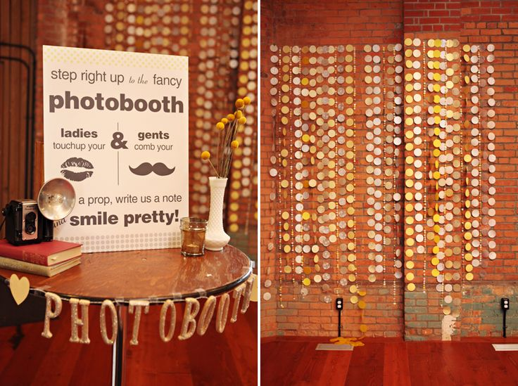 Photo booth or neat decor (Laurel Packinghouse).
