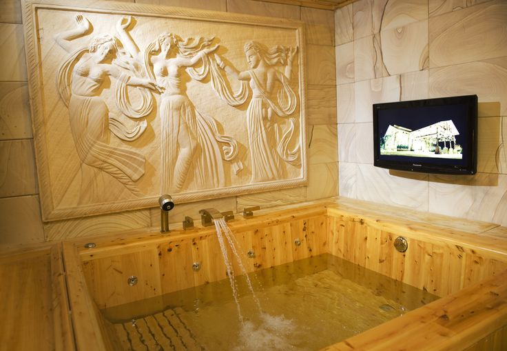 Get your body relax at our Royal Villa's indoor jacuzzi!. Dip your body while watching tv is a must do before the year ends!  #jacuzzi