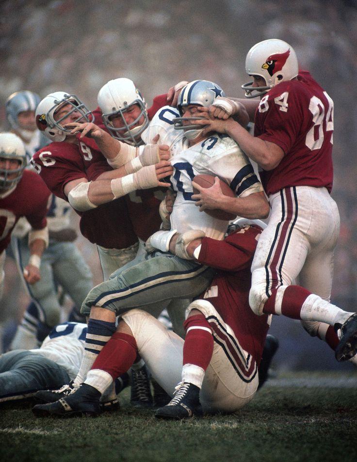 Classic Cardinals and Cowboys.