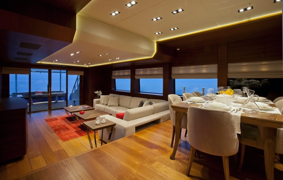 Moni by Vicem Yachts - short listed for the Motor Yacht 25-40 metres Award in the International Yacht and Aviation Awards 2013...
