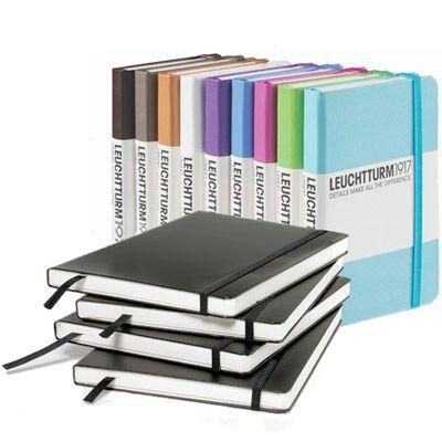 Leuchtturm1917 Notebook A5 Medium Olinjerad hos Pen Store - Billiga, snabba och vassast på pennor - frakt till hela Sverige!