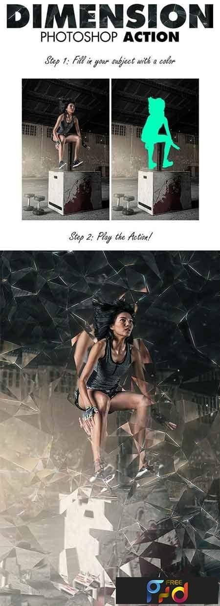 1709204 Dimension Photoshop Action 18883891 - Free PSD download, free photoshop action, lightroom preset, plugin, vector, stock, font... with Google Drive links