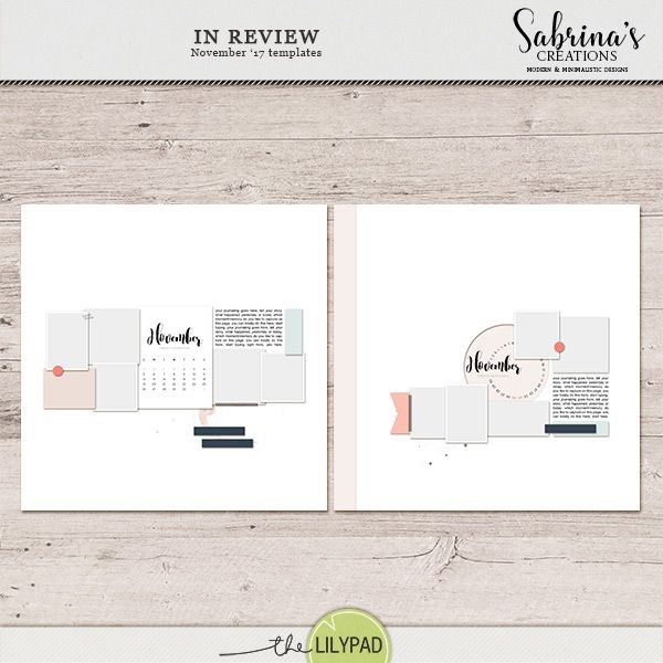 In Review | November 17 Templates
