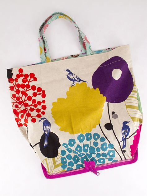 Foldaway Tote - One Step in Time f2 by VIDA VIDA zhZLd4j