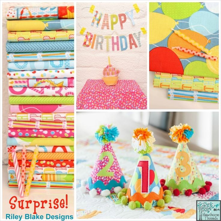 Surprise! by Bobunny for Riley Blake Designs #birthday #surprise #bobunny #rileyblakedesigns