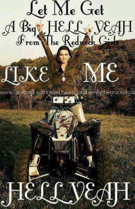 I am a redneck woman