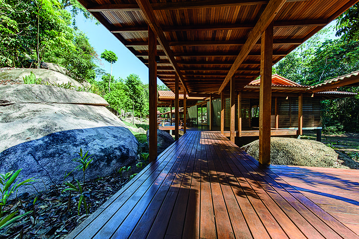 Amazônia recebe hotel 100% sustentável - Casa