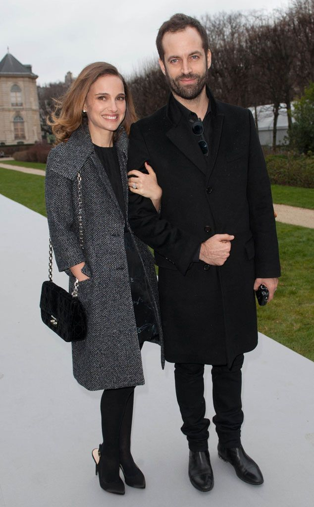 Natalie Portman & Benjamin Millepied from The Big Picture: Today's Hot Pics | E! Online The lovebirds are all smiles while attending Paris Fashion Week.
