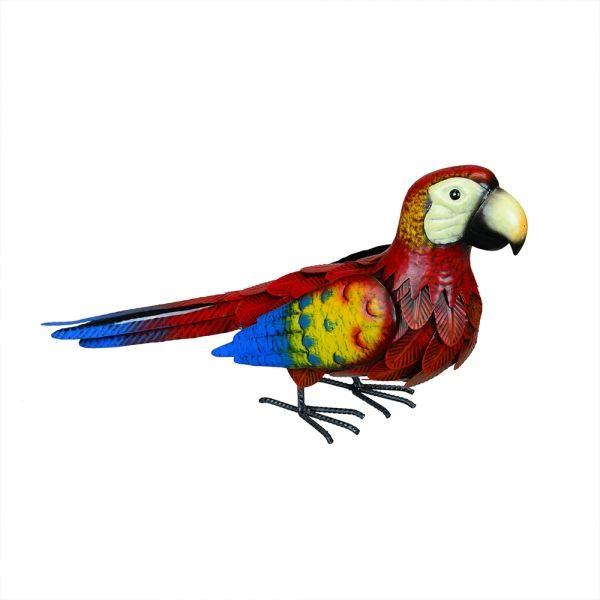 Home :: Garden Art :: Birds, Chickens, Ducks, Owls U0026 Roosters :: Large  Outdoor Birds :: Red Parrot Metal Garden Art Decor   Garden Art   Pinterest    Garden ...