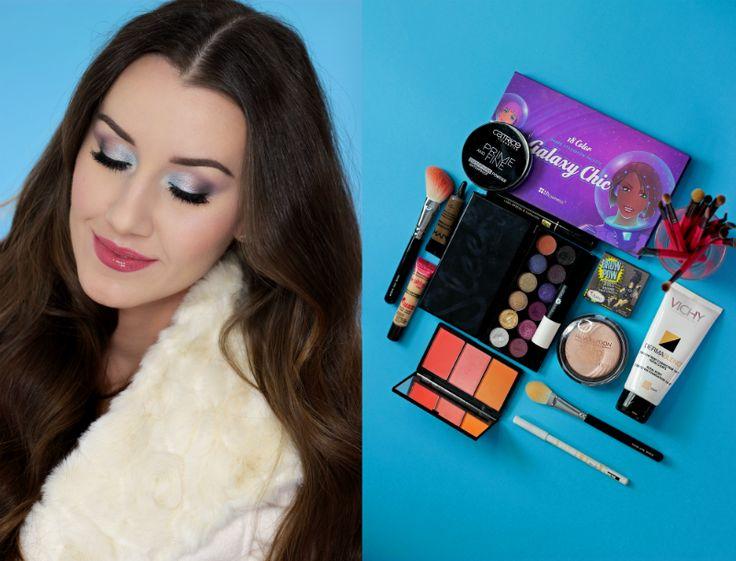 Kosmetyczna Hedonistka Blog: Beauty | Lifestyle: ZIMOWY MAKIJAŻ KROK PO KROKU DLA WIZAŻ.PL.