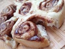 Weer eens wat anders van de barbecue, kaneelbroodjes/ cinnamon rolls!
