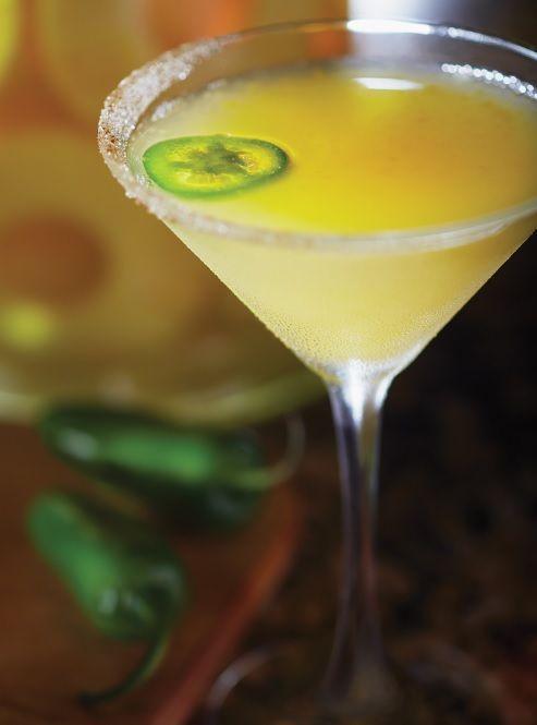 Bonefish Grill's Ocean Trust Tropic Heat Martini