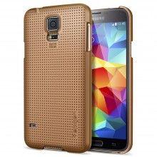 Forro Samsung Galaxy S5 Spigen SGP UltraFit Smooth Dorado $ 40.700,00