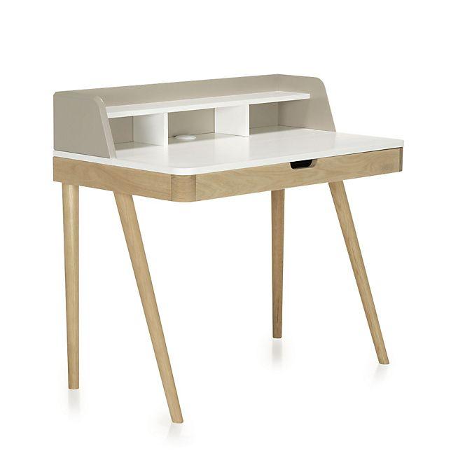 1000 ideas about bureau avec tiroir on pinterest - Bureau avec rehausse ...