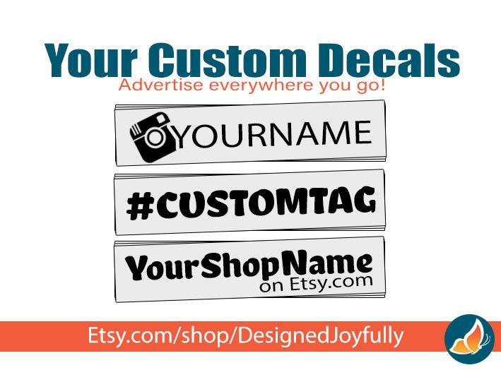 Excited to share the latest addition to my #etsy shop: Custom Decal For Car Business Social Media Marketing - Vinyl Car Decal http://etsy.me/2Fl6OG0 #cardecal #customdecal #largedecals #personalizeddecals #decalsforbusiness #marketingdecal #designedjoyfully