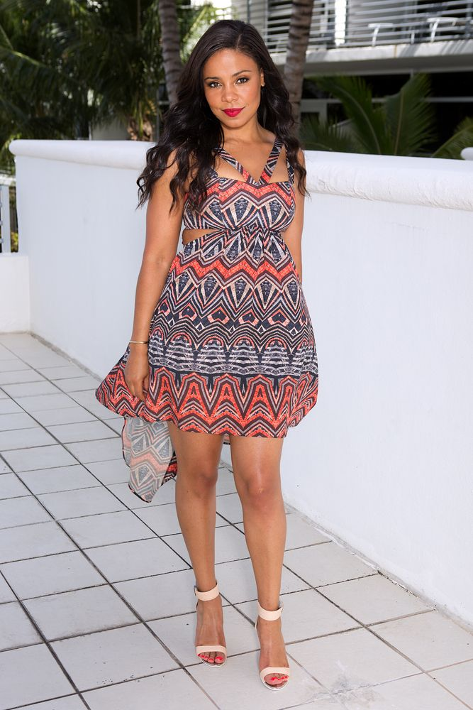 An American actress Sanaa Lathan
