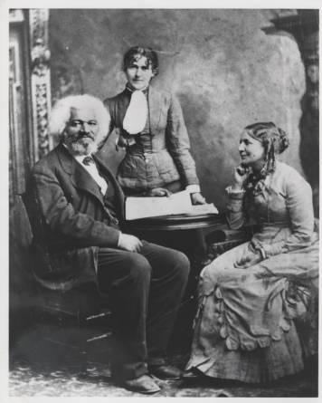 Frederick Douglass with wife Helen Pitts Douglass (class ...