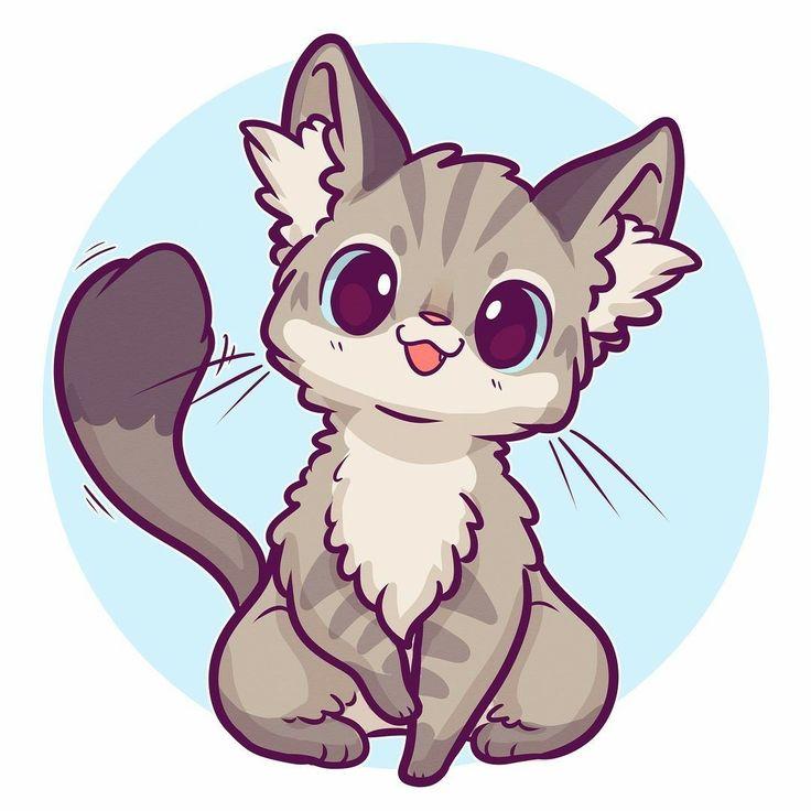 Картинки с котятами чиби