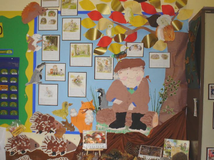 Percy the park keeper classroom display photo - Photo gallery - SparkleBox